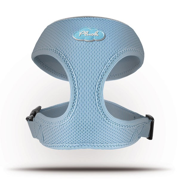 Curli Basic Geschirr Air-Mesh Skyblue L