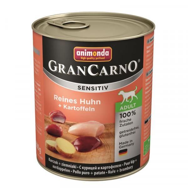 Animonda GranCarno Adult Sensitive Huhn + Kartoffeln 800g