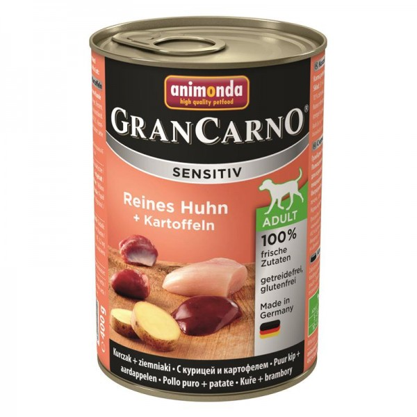 Animonda GranCarno Adult Sensitive Huhn + Kartoffeln 400g