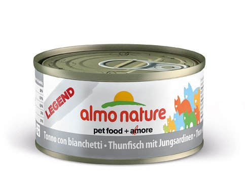 Almo Nature Legend - Thunfisch & Jungsardinen 70g