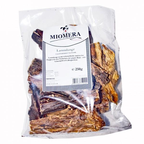 MIOMERA Dog Snack Lammlunge 250g