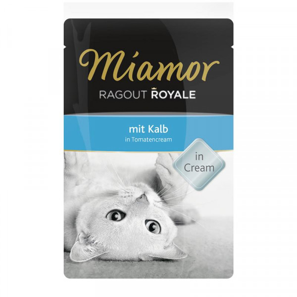Miamor FB Ragout Royale Kalb in Tomatencream 100g