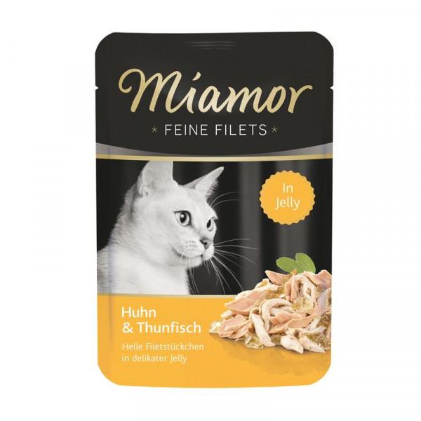Miamor FB Feine Filets Huhn & Thunfisch 100g