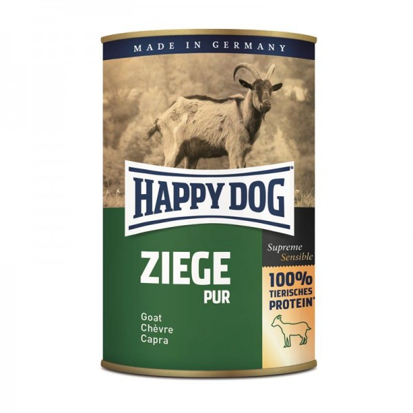 Happy Dog Dose Ziege Pur 400 g