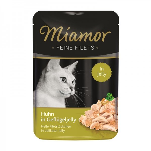 Miamor Feine Filets Huhn in Geflügeljelly 100g