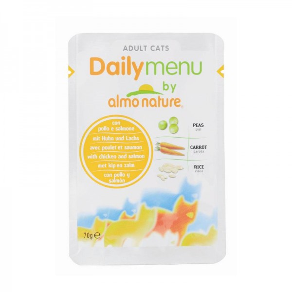 Almo Nature PFC Daily Menu Huhn & Lachs 70g