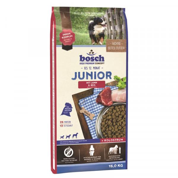 Bosch Junior Lamm & Reis 15 kg