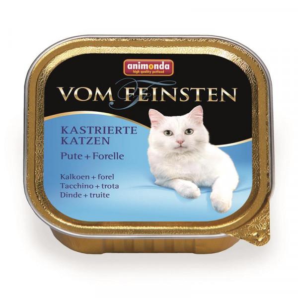 Animonda vom Feinsten für kastrierte Katzen Pute & Forelle 100g