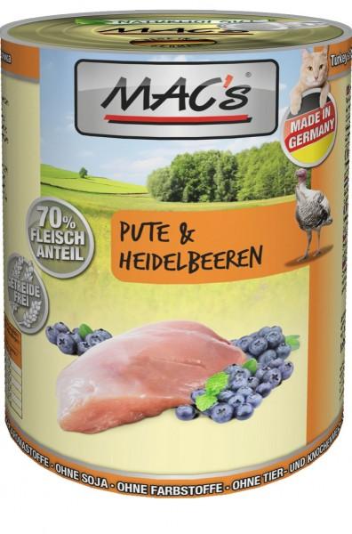 MACs Cat Pute & Heidelbeeren 400g
