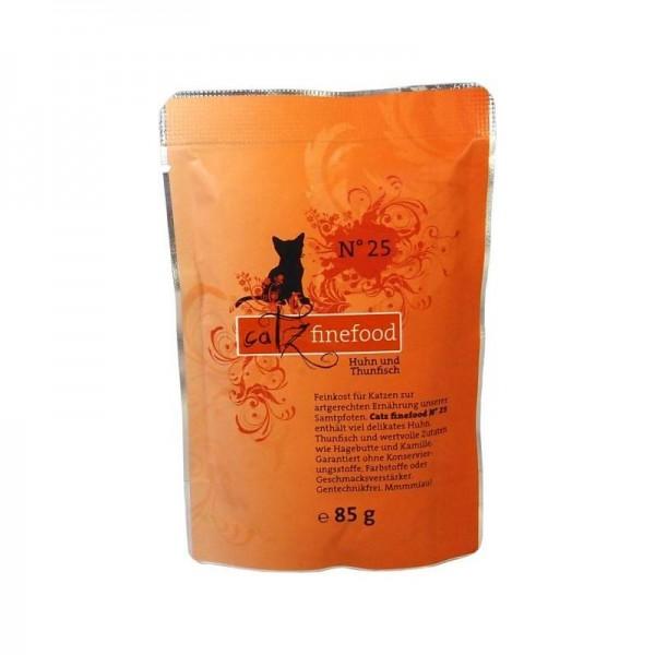 Catz finefood No. 25 Huhn & Thunfisch 85g