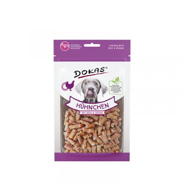 Dokas Hundesnack Hühnchen mit Reis und Sesam 70g