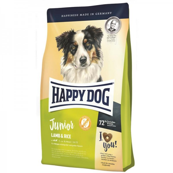 Happy Dog Supreme Sensible Young Junior Lamm & Reis 1kg