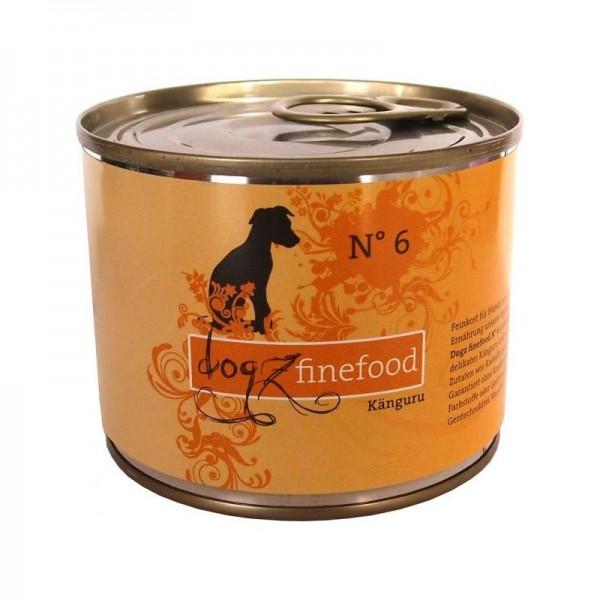 Dogz finefood Dose No. 6 Känguru 200g