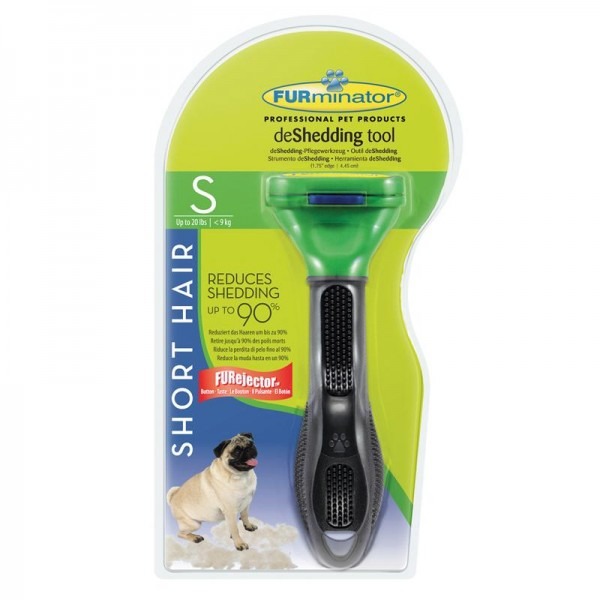 Furminator deShedding Tool für kurzhaarige kleine Hunde