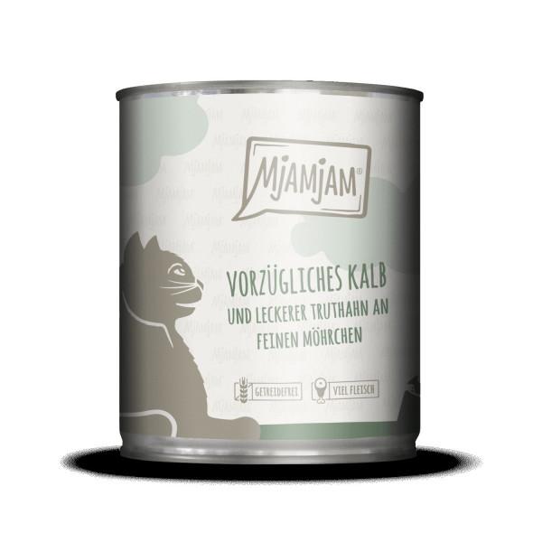 MjAMjAM - vorzügliches Kalb & Truthahn an leckeren Möhrchen 800 g