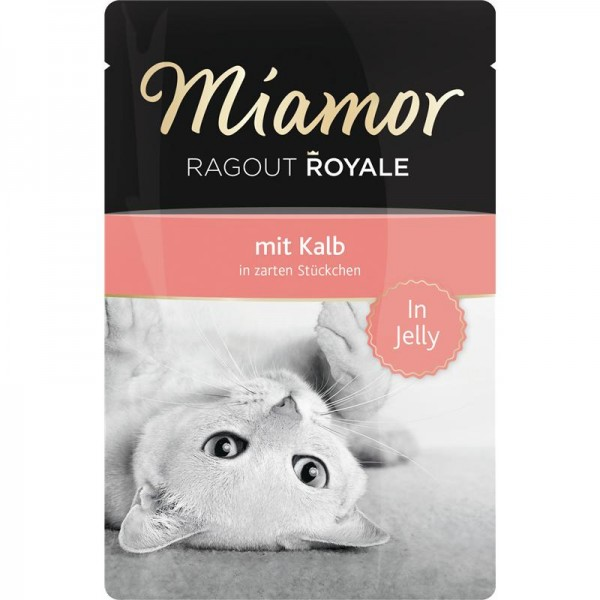 Miamor FB Ragout Royale in Jelly Kalb 100g