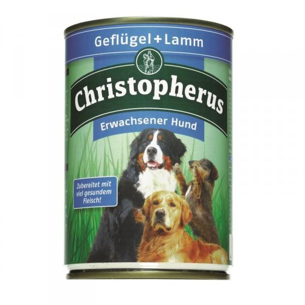 Christopherus Dose Geflügel & Lamm 400g