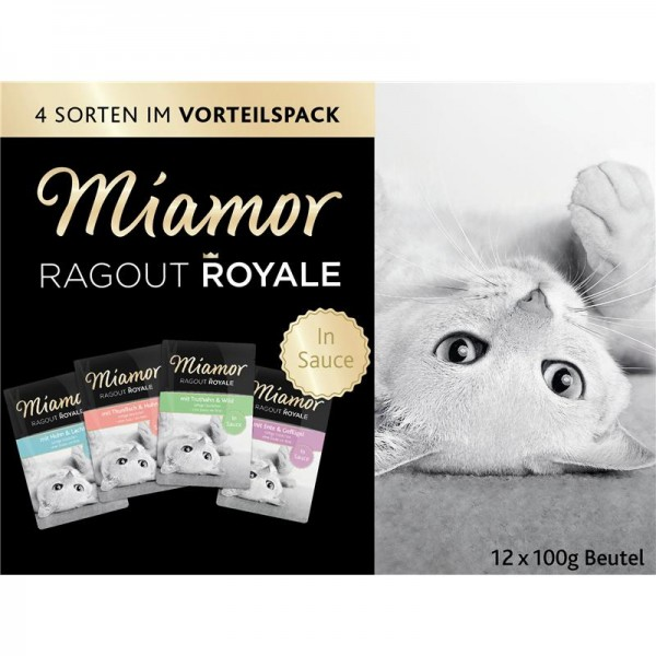 Miamor FB Ragout Royale Multibox in Sauce 12x100g