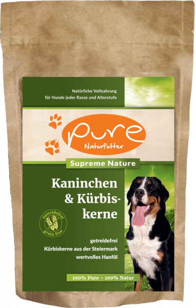 PURE Dog SN Kani+Ku GetrFr400g