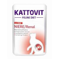 Kattovit PB Feline Diet Niere/Renal mit Rind 85g