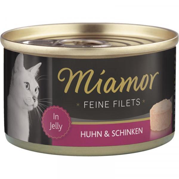 Miamor Dose Feine Filets Huhn und Schinken 100g