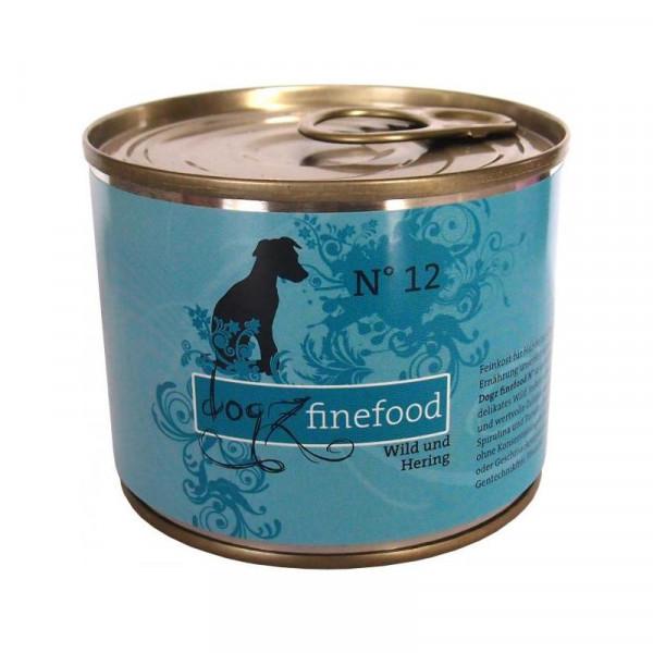 Dogz finefood Dose No. 12 Wild & Hering 200g