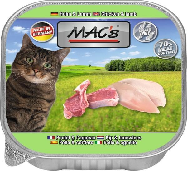 MACs Cat Huhn & Lamm 85g