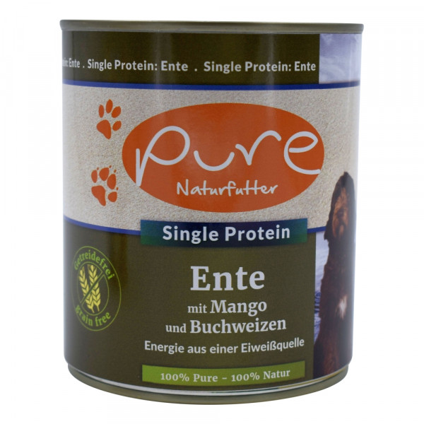 PURE Dog Ente GetrFr 800g