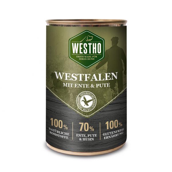 Westho Dog Dose Westfalen Ente & Pute 400g