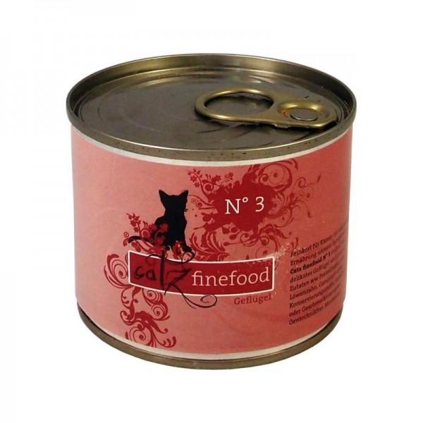 Catz finefood No.3 Geflügel 200g