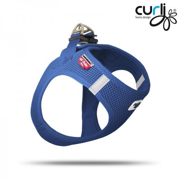 Curli Vest Geschirr Blau 3XS