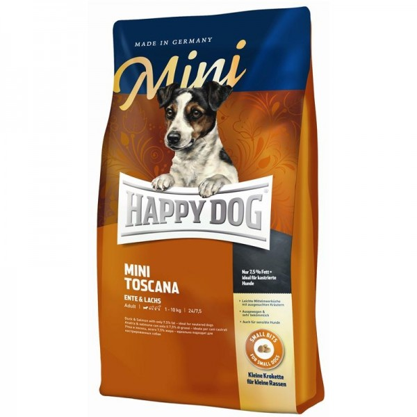 Happy Dog Supreme Sensible Mini Toscana 4kg