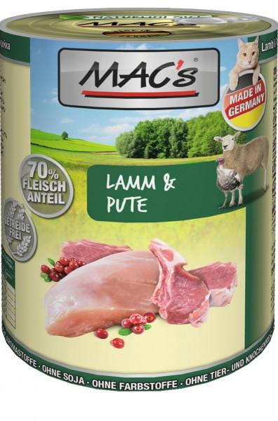 MACs Cat Lamm & Pute 400g