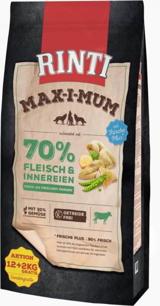 Rinti MaxiMum Pansen 12kg + 2kg gratis