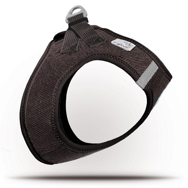 Curli Vest Geschirr Cord Braun 3XS