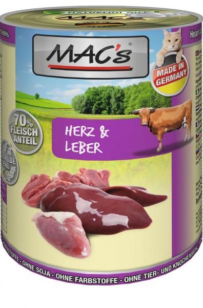 MACs Cat Herz & Leber 400g