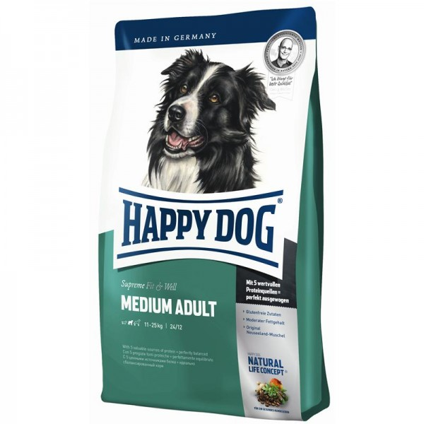 Happy Dog Supreme Fit & Well Medium Adult 2x12,5kg