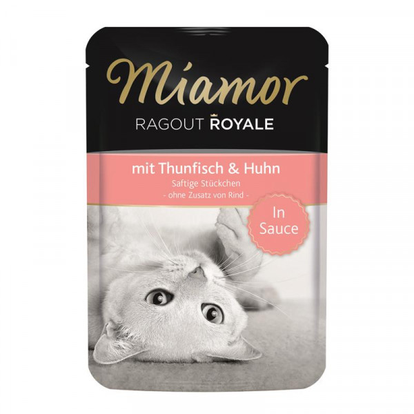 Miamor FB Ragout Royale in Soße Thunfisch & Huhn 100g