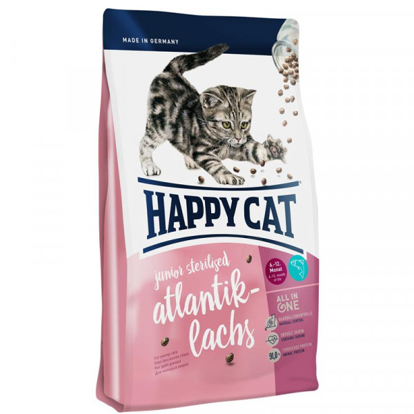 Happy Cat Supreme Junior Sterilised Atlantik-Lachs 300g