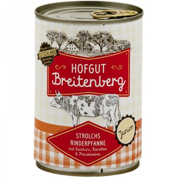Hofgut Breitenberg Junior Strolchs Rinderpfanne Karotten & Preiselbeeren 400g