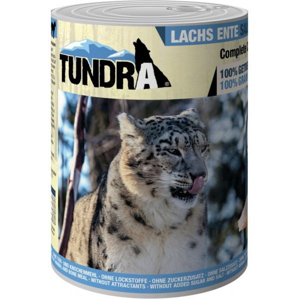 Tundra Cat Lachs+Ente 400g