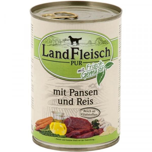 Landfleisch Dog Pur Pansen & Reis 400g