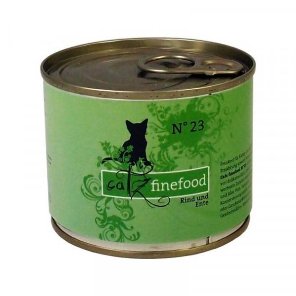 Catz finefood No. 23 Rind und Ente 200g