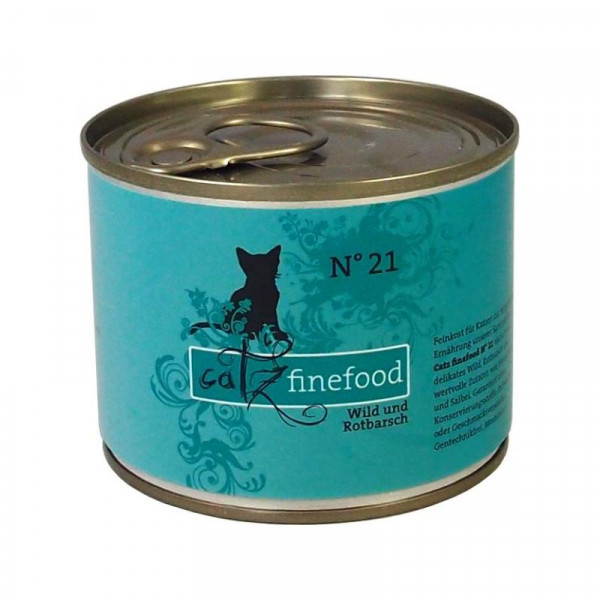 Catz finefood No. 21 Wild und Rotbarsch 200g