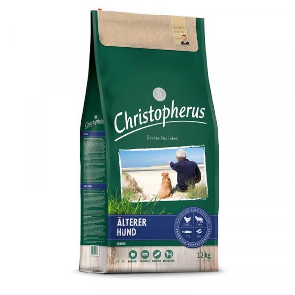 Christopherus Älterer Hund Geflügel,Lamm, Ei & Reis 2 x 12kg Spardoppelpack