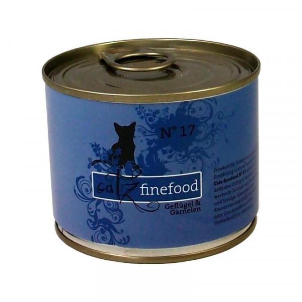 Catz finefood No. 17 Geflügel & Garnele 200g