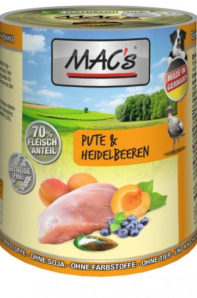 MACs Dog Pute & Heidelbeeren 400g