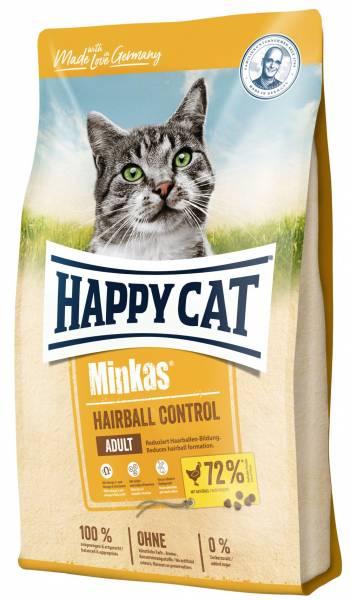 Happy Cat Minkas Hairball Control Geflügel 1,5kg