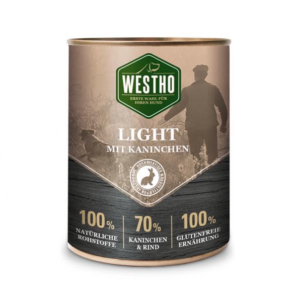Westho Dog Dose Light Rind & Kaninchen 800g