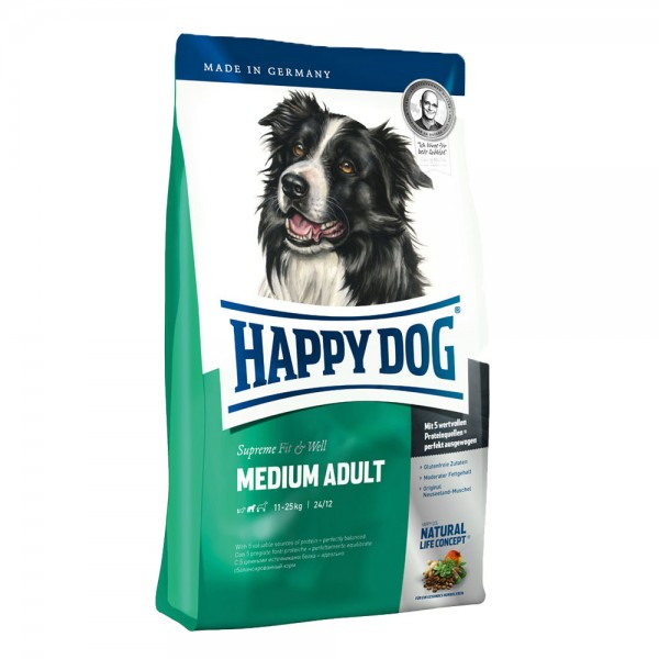 Happy Dog Supreme Fit & Well Medium Adult 300 g